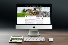 The new Hickstead website helps to attract high profile sponsors like Longines